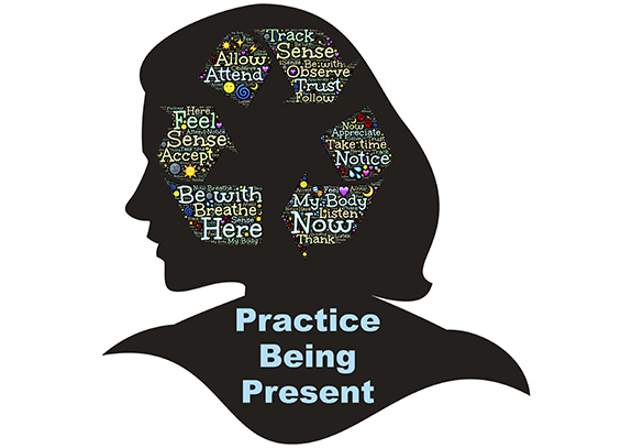 mindful practice being present